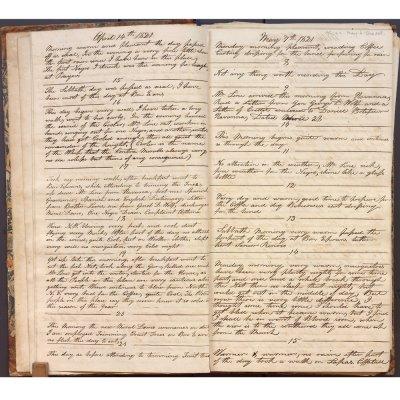 April 14-May 15, 1821