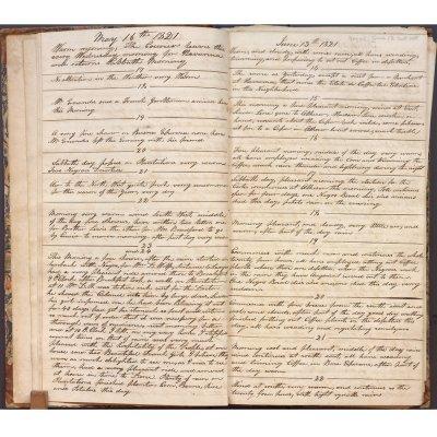 May 16-June 22, 1821