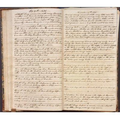 October 7-November 18, 1821